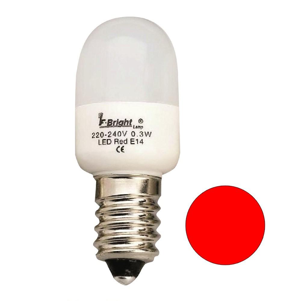 Ampoule LED Pebetera Mini Rouge E14 03W